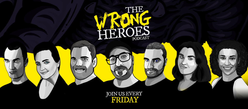 Join the Wrong Heroes every Friday for  a new episode of our comedy, improv, adventure story, Order, or Chaos.